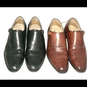 Two pair Banana Republic Shoes size 11 & 11.5